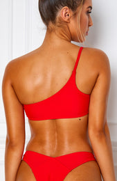 Hamptons Bikini Top Red