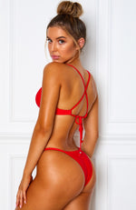 Malibu Bottoms Red