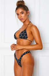 Power Bikini Bottoms Black