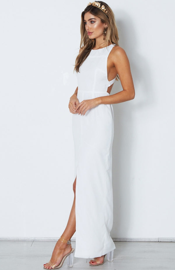 Enchanted Maxi Dress White