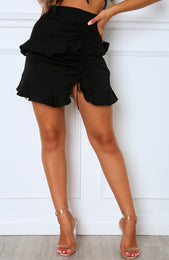 Golden State Mini Skirt Black