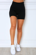Almost Famous Bike Shorts Black