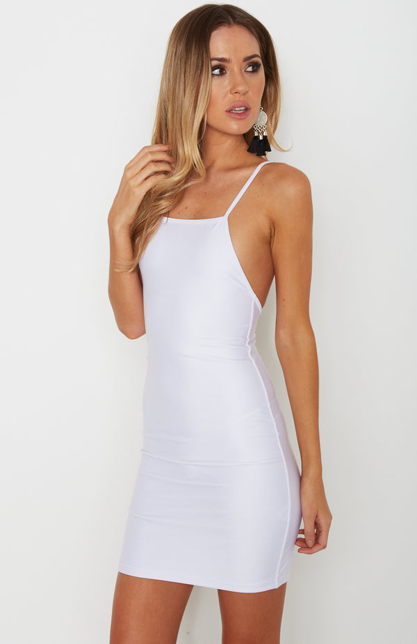 Luxe Dress White