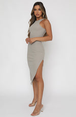 Meet Again Midi Dress Oatmeal
