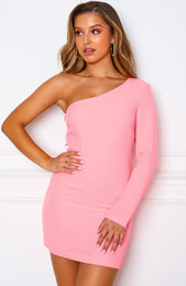 Mojito Mini Dress Neon Pink