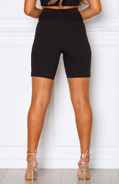Berry Crush Shorts Black
