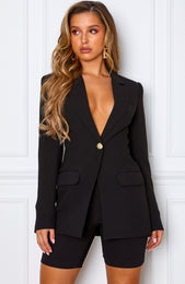Manhattan Blazer Black