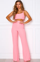 Feel The Buzz Pants Neon Pink