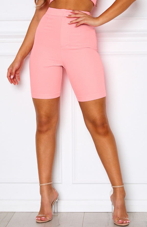 Berry Crush Shorts Neon Pink