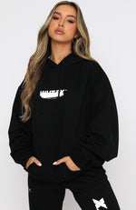 Lucid Dreams Oversized Hoodie Black
