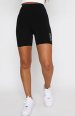 Day Break Bike Shorts Black
