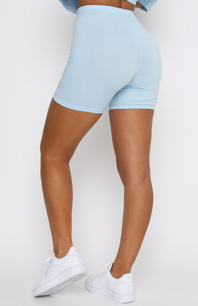 Best Intentions Bike Shorts Baby Blue