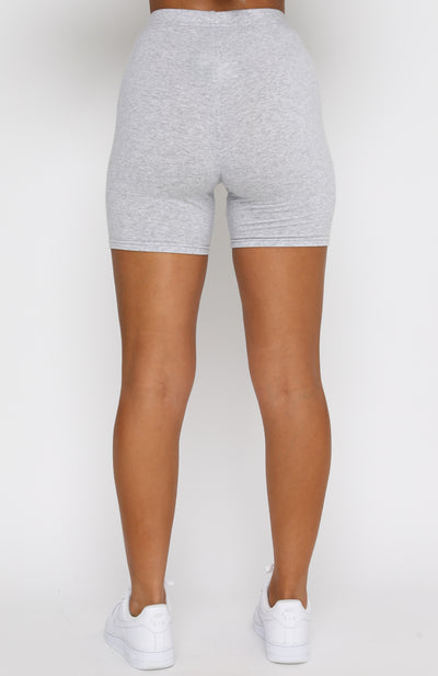 Best Intentions Bike Shorts Grey Marle