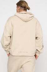 In My Head Oversized Hoodie Sand