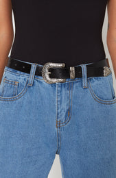 Hey Boy Belt Black