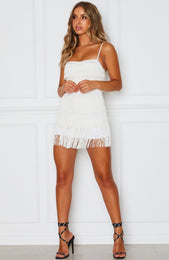 Finest Hour Mini Dress Off White