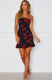 Spell On You Dress Russian Rose Black