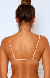 Reef Break Bikini Top Peach