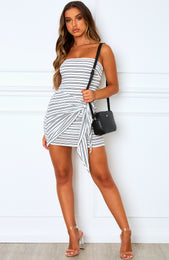 One To Watch Mini Dress Stripe