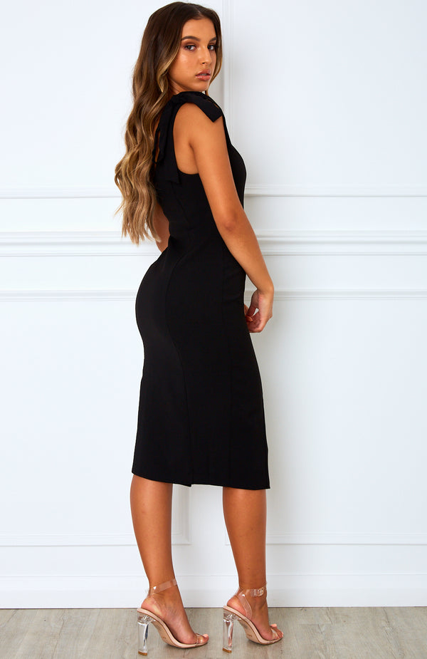 Savanna Midi Dress Black