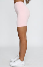 Running Back To You Bike Shorts Pink