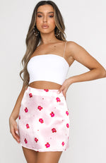 Zinnia Mini Skirt Pink