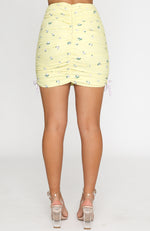 Endless Summer Mini Skirt Yellow