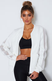 Boss Princess Bomber White
