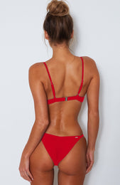 Miami Bikini Top Red