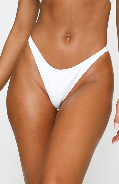 Oceana Bottoms White Rib