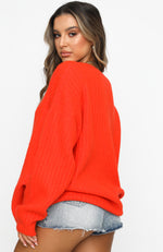 Fifth Avenue Knit Tangerine