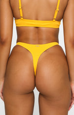 Oceana Bottoms Marigold Rib
