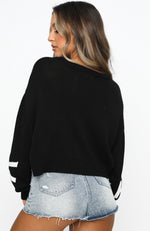 Manhattan Knit Black