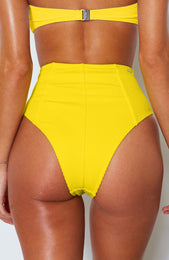 Tula Bottoms Yellow Rib