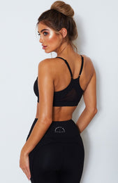 That Must-Have Sports Bra Black