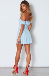 Latest Obsession Dress Baby Blue