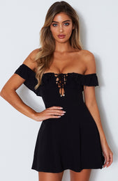 Latest Obsession Dress Black