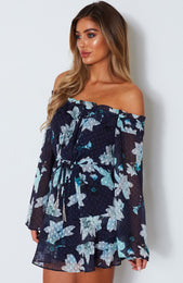 Stuck On You Dress Magnolia Navy