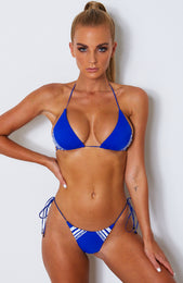 Highly Strung Bottoms Electric Blue