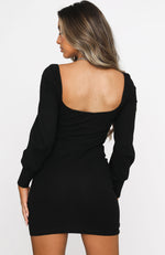 After Dark Mini Dress Black