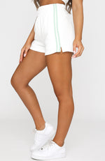 Switch It Up Shorts White