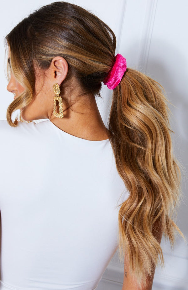 Ari Scrunchie Watermelon Velvet