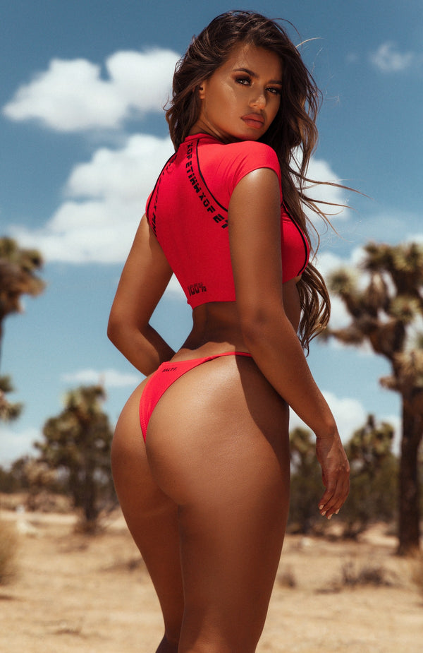 Teaser Bikini Crop Red