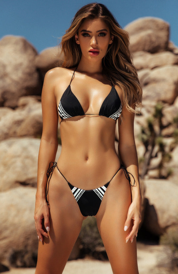 Barely There Bikini Top Black