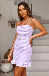 La Dolce Vita Dress Lilac
