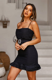La Dolce Vita Dress Carbon