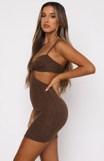 Unreal Mini Dress Mocha