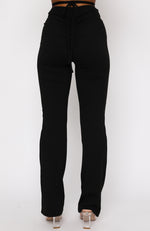 By Your Side Pants Black