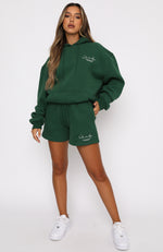 Set The Standard Hoodie Forest Green