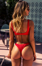 Del Marcos Bottoms Red Rib